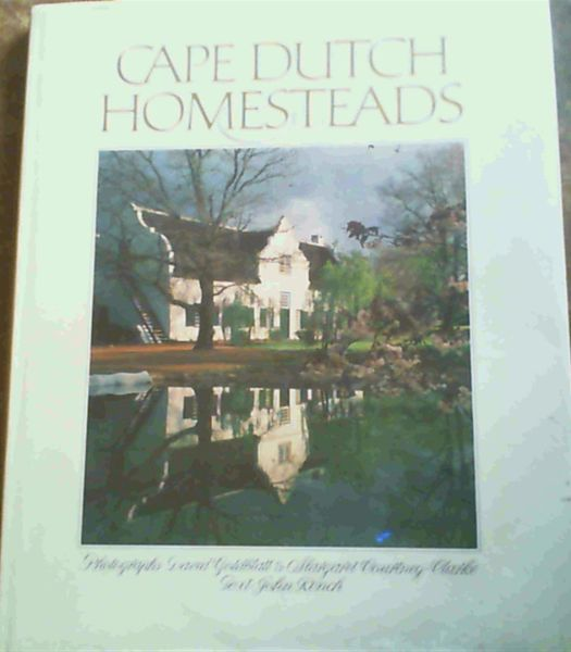 Image for Cape Dutch Homesteads