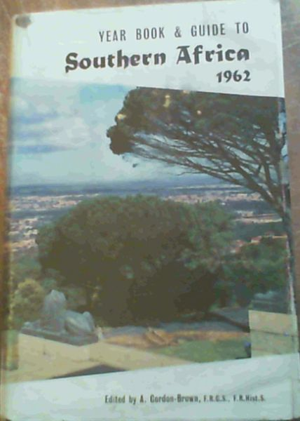 Image for Year Book and Guide to Southern Africa 1962