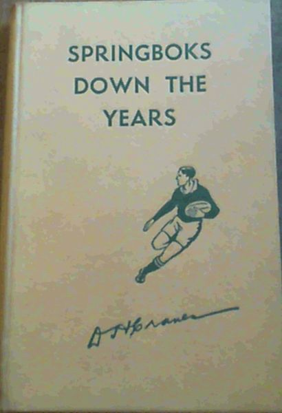 Image for Springboks Down The Years
