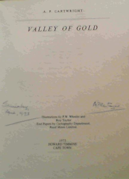 Image for Valley of Gold