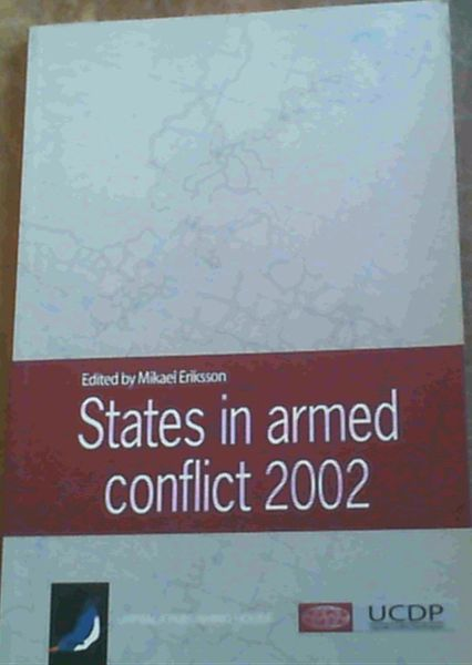 Image for States In Armed Conflict 2002