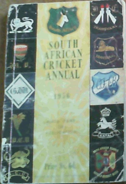 Image for South African Cricket Annual 1956