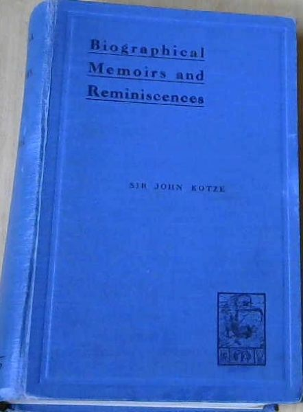 Image for Biographical Memoirs and Reminiscences