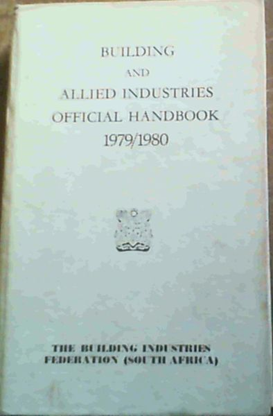 Image for Building & Allied Industries Official Handbook 1979/1980