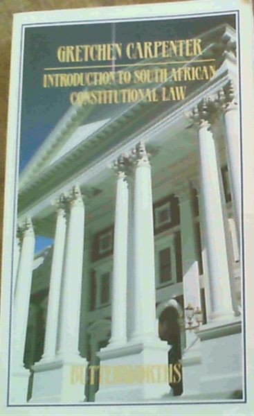 Image for Introduction to South African Constitutional Law